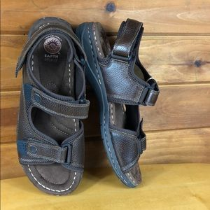 Earth Spirit Shoes - Earth Spirit 🔵 Men's Two Strap Leather Sandals 12